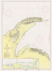 Big Bay Point to Redridge 1955 Lake Superior Harbor Chart Reprint 94