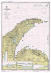 Big Bay Point to Redridge 1984 Lake Superior Harbor Chart Reprint 94