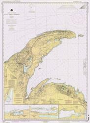 Big Bay Point to Redridge 1995 Lake Superior Harbor Chart Reprint 94