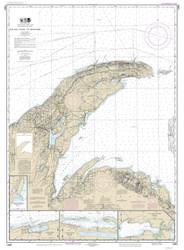 Big Bay Point to Redridge 2014 Lake Superior Harbor Chart Reprint 94
