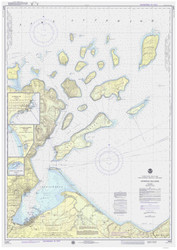 Apostle Islands 1976 Lake Superior Harbor Chart Reprint 961