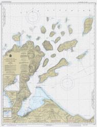 Apostle Islands 1986 Lake Superior Harbor Chart Reprint 961
