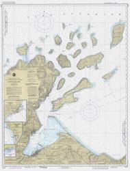 Apostle Islands 1990 Lake Superior Harbor Chart Reprint 961