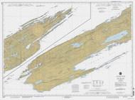 Isle Royale 1994 Lake Superior Harbor Chart Reprint 981