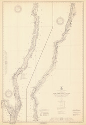 Champlain Canal 1931 New York Canals & Lakes Chart Reprint 181
