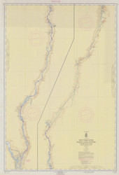 Champlain Canal 181-06 New York Canals & Lakes Chart Reprint 181