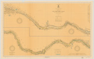 Erie Canal 1919c New York Canals & Lakes Chart Reprint 183