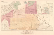 East New York 1871 - Old Map Reprint - New York Cities Other Brooklyn Small Area