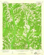 Billingsley, Alabama 1959 (1960) USGS Old Topo Map Reprint 15x15 AL Quad 305499