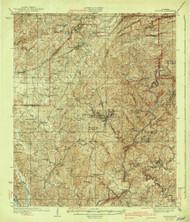 Blocton, Alabama 1940 (1940) USGS Old Topo Map Reprint 15x15 AL Quad 305511