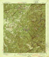 Blocton, Alabama 1940 (1940) USGS Old Topo Map Reprint 15x15 AL Quad 305512