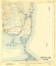 Cedar Point, Alabama 1943 (1943) USGS Old Topo Map Reprint 15x15 AL Quad 305525