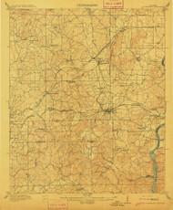 Columbiana, Alabama 1911 (1911) USGS Old Topo Map Reprint 15x15 AL Quad 305539
