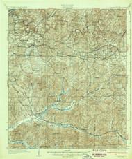 Cottondale, Alabama 1934 (1934) USGS Old Topo Map Reprint 15x15 AL Quad 305540
