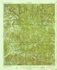 Cottondale, Alabama 1934 (1934) USGS Old Topo Map Reprint 15x15 AL Quad 305541
