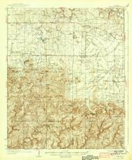 Danville, Alabama 1938 (1938) USGS Old Topo Map Reprint 15x15 AL Quad 305549