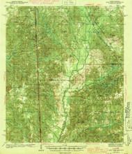 Deer Park, Alabama 1943 (1943) USGS Old Topo Map Reprint 15x15 AL Quad 305552