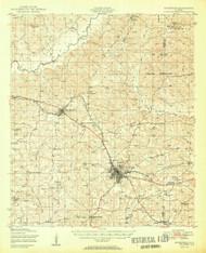 Enterprise, Alabama 1950 (1950) USGS Old Topo Map Reprint 15x15 AL Quad 305563