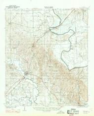 Epes, Alabama 1932 (1969) USGS Old Topo Map Reprint 15x15 AL Quad 305564