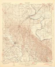 Epes, Alabama 1932 (1932) USGS Old Topo Map Reprint 15x15 AL Quad 464374