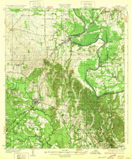 Epes, Alabama 1932 (1932) USGS Old Topo Map Reprint 15x15 AL Quad 305566