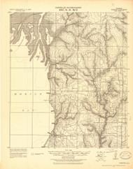 Fairhope, Alabama 1921 (1921) USGS Old Topo Map Reprint 15x15 AL Quad 464380