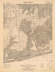 Bon Secour, Alabama 1921 (1921) USGS Old Topo Map Reprint 15x15 AL Quad 464320