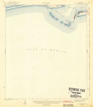 Fort Morgan, Alabama 1942 (1942) USGS Old Topo Map Reprint 15x15 AL Quad 305582
