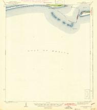 Fort Morgan, Alabama 1942 (1942) USGS Old Topo Map Reprint 15x15 AL Quad 305581