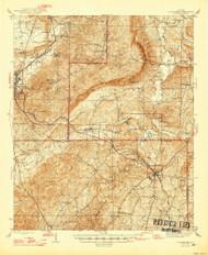Goodwater, Alabama 1947 (1947) USGS Old Topo Map Reprint 15x15 AL Quad 305593