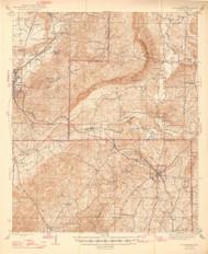 Goodwater, Alabama 1944 (1947) USGS Old Topo Map Reprint 15x15 AL Quad 464399