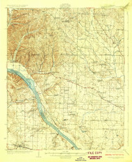 Gravelly Springs, Alabama 1926 (1926) USGS Old Topo Map Reprint 15x15 AL Quad 305601