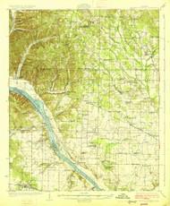 Gravelly Springs, Alabama 1926 (1926) USGS Old Topo Map Reprint 15x15 AL Quad 305600