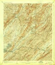 Leeds, Alabama 1907 (1924) USGS Old Topo Map Reprint 15x15 AL Quad 305619