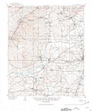 Montevallo, Alabama 1910 (1944) USGS Old Topo Map Reprint 15x15 AL Quad 305633