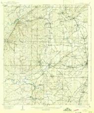 Montevallo, Alabama 1910 (1942) USGS Old Topo Map Reprint 15x15 AL Quad 305636
