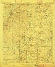 Montevallo, Alabama 1910 (1910) USGS Old Topo Map Reprint 15x15 AL Quad 305635