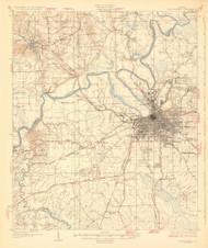 Montgomery, Alabama 1930 (1930) USGS Old Topo Map Reprint 15x15 AL Quad 464464