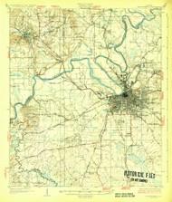 Montgomery, Alabama 1930 (1930) USGS Old Topo Map Reprint 15x15 AL Quad 305642