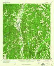 Plantersville, Alabama 1959 (1960) USGS Old Topo Map Reprint 15x15 AL Quad 305659