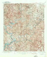 Port Birmingham, Alabama 1938 (1944) USGS Old Topo Map Reprint 15x15 AL Quad 305664