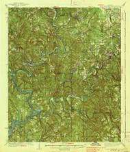 Port Birmingham, Alabama 1938 (1938) USGS Old Topo Map Reprint 15x15 AL Quad 305661
