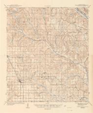 Robertsdale, Alabama 1943 (1943) USGS Old Topo Map Reprint 15x15 AL Quad 464504