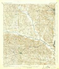 Seale, Alabama 1914 (1933) USGS Old Topo Map Reprint 15x15 AL Quad 305689