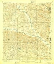 Seale, Alabama 1914 (1928) USGS Old Topo Map Reprint 15x15 AL Quad 305688