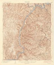 Searles, Alabama 1934 (1934) USGS Old Topo Map Reprint 15x15 AL Quad 464514