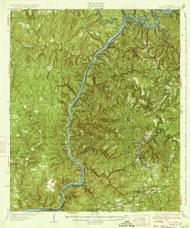 Searles, Alabama 1934 (1934) USGS Old Topo Map Reprint 15x15 AL Quad 305691