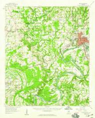 Selma, Alabama 1958 (1959) USGS Old Topo Map Reprint 15x15 AL Quad 305696