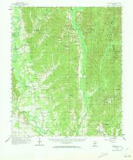 Summerfield, Alabama 1959 (1973) USGS Old Topo Map Reprint 15x15 AL Quad 305702