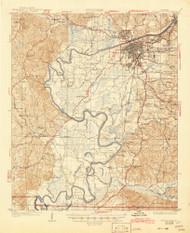 Tuscaloosa, Alabama 1926 (1945) USGS Old Topo Map Reprint 15x15 AL Quad 305715